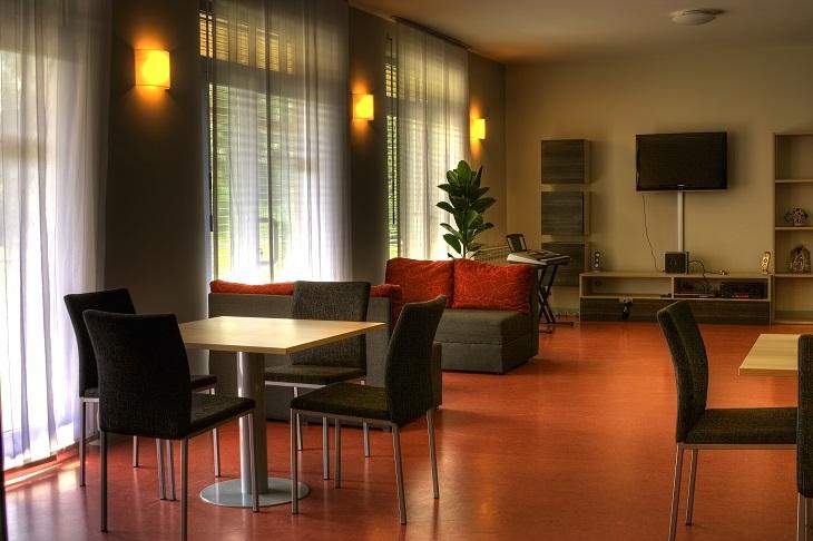Slika prostorije dnevnog boravka